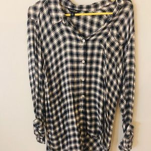 Lucky Brand plaid button up